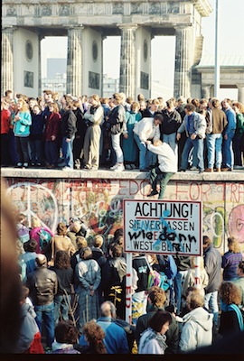 The Berlin wall is open
